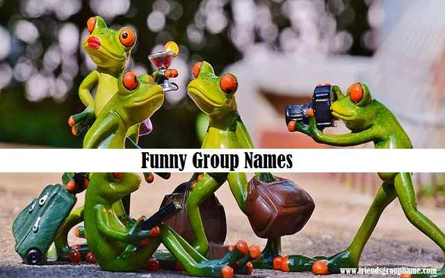 Funny Group Names, funny group