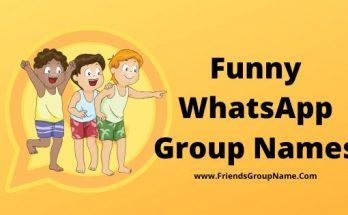 Funny WhatsApp Group Names, Group Names