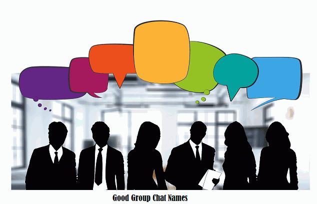 Good Group Chat Names, chat names