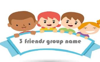 3 friends group name; friends,; friend