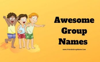 Awesome Group Names, Group Names