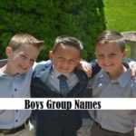 Boys Group Names