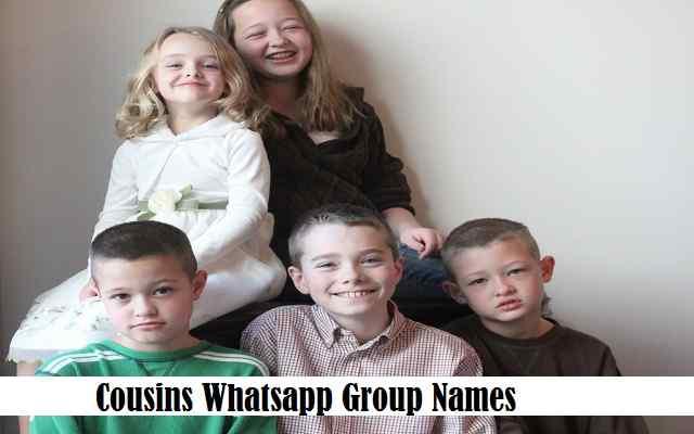 Cousins Whatsapp Group Names