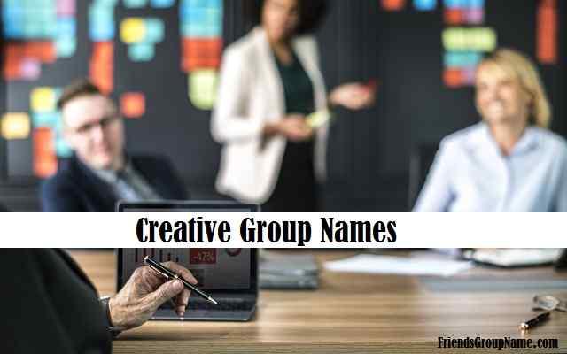 Creative Group Names