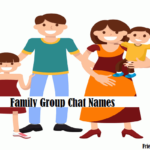 Family Group Chat Names