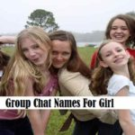 Group Chat Names For Girl