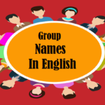 Group Names In English