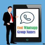 Cool Whatsapp Group Names