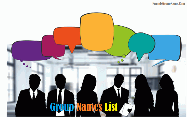 Group Names List