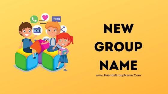 New Group Name, Group Names
