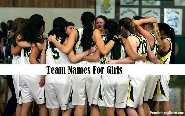 team names for girls