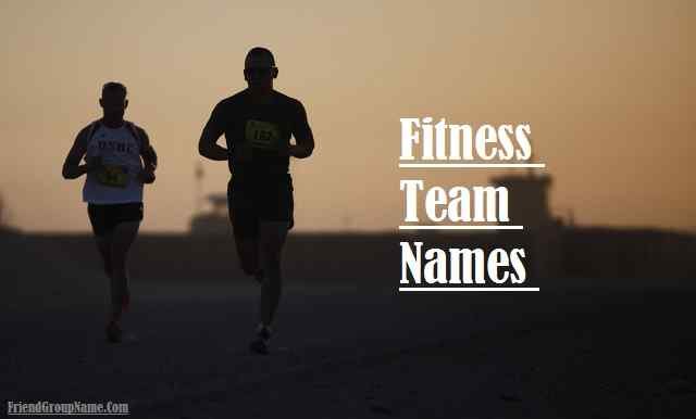 Fitness Team Names