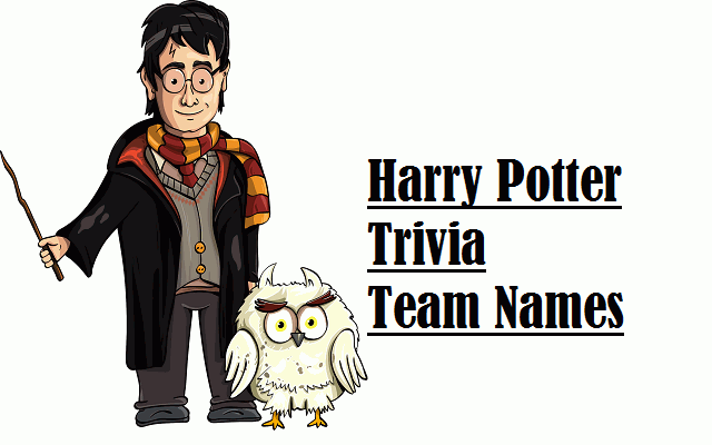 Harry Potter Trivia Team Names