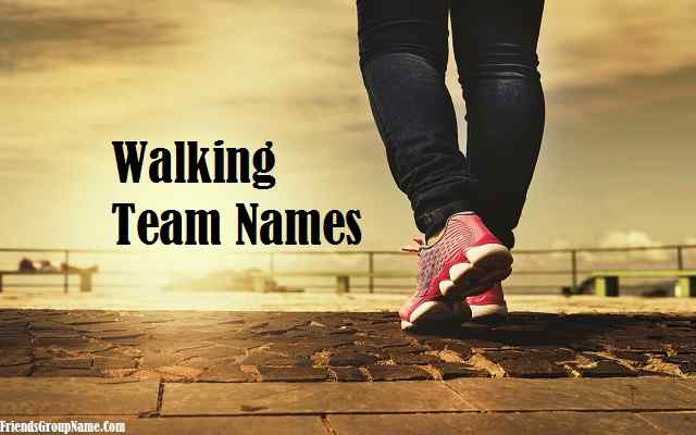 Walking Team Names