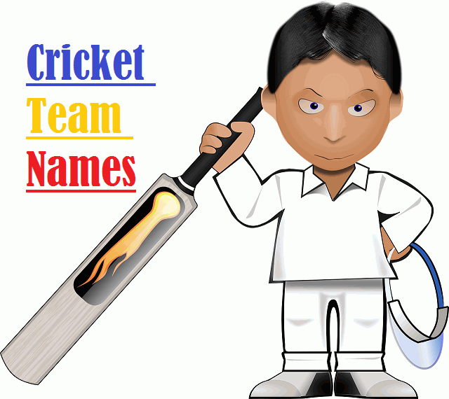 Cricket Team Names