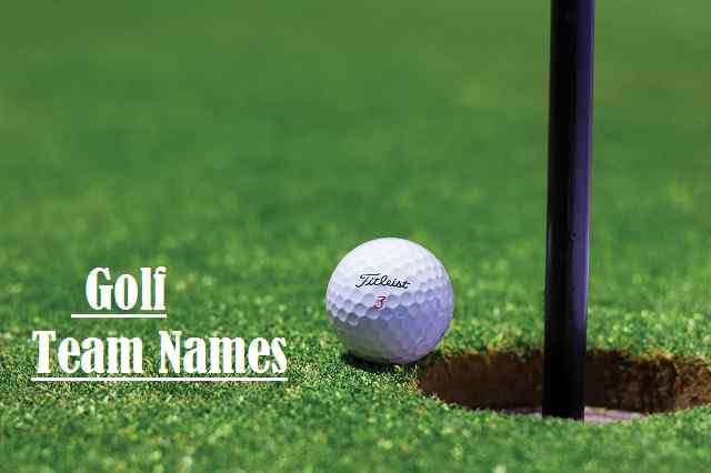 Golf Team Names