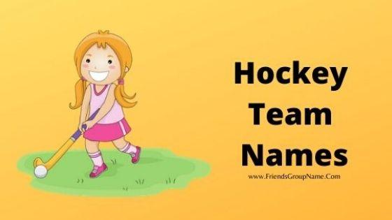 Hockey Team Names, hockey