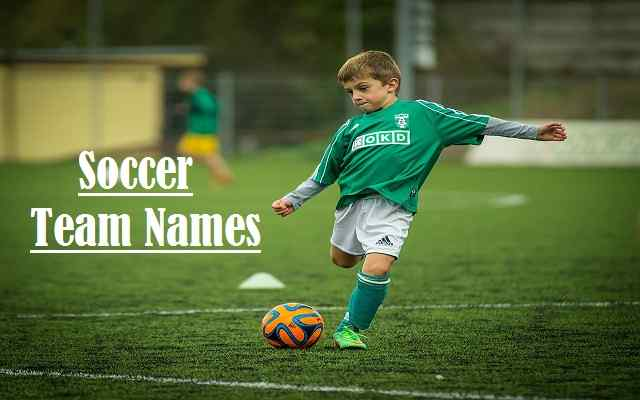 ⚽️ Soccer Team Names List { 2019 } For Good, Ideas