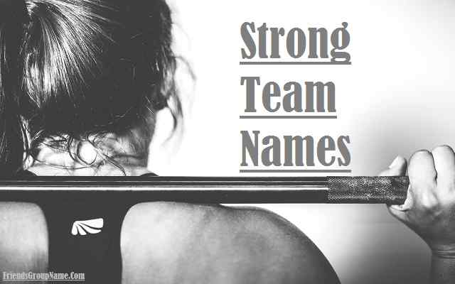 Strong Team Names, Work, Sports, Business, Sales