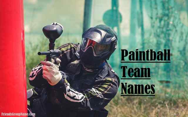 Paintball Team Names
