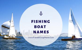 Fishing Boat Names, boat, boat names