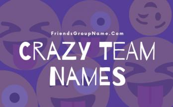 Crazy Team Names, crazy, team names