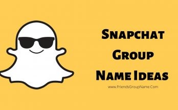 Snapchat Group Name Ideas