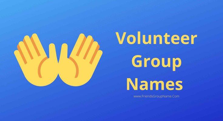 Volunteer Group Names