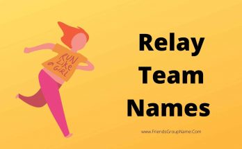 Relay Team Names