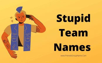 Stupid Team Names