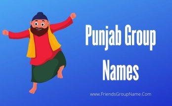 Punjab Group Names, group names