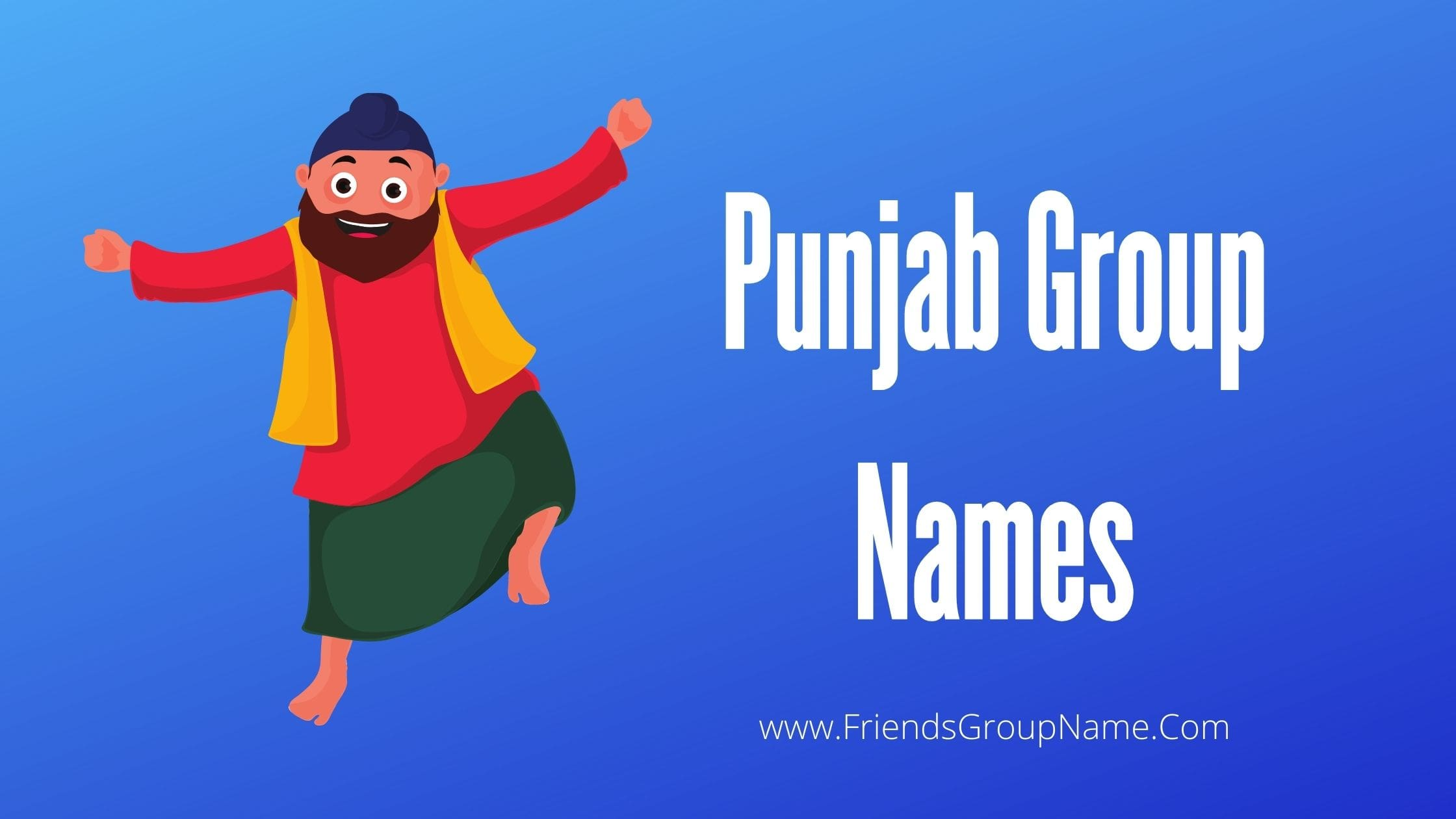 Punjab Group Names, group names