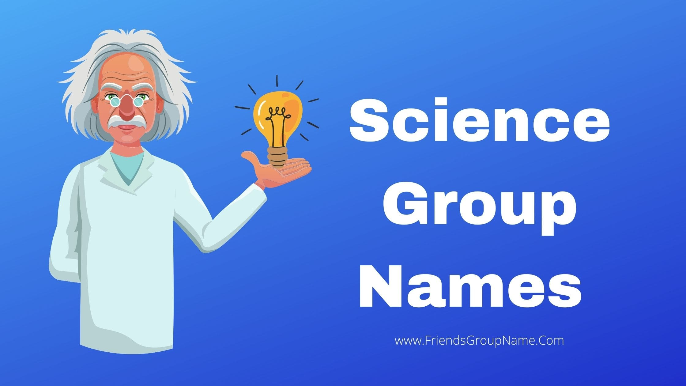 Science Group Names