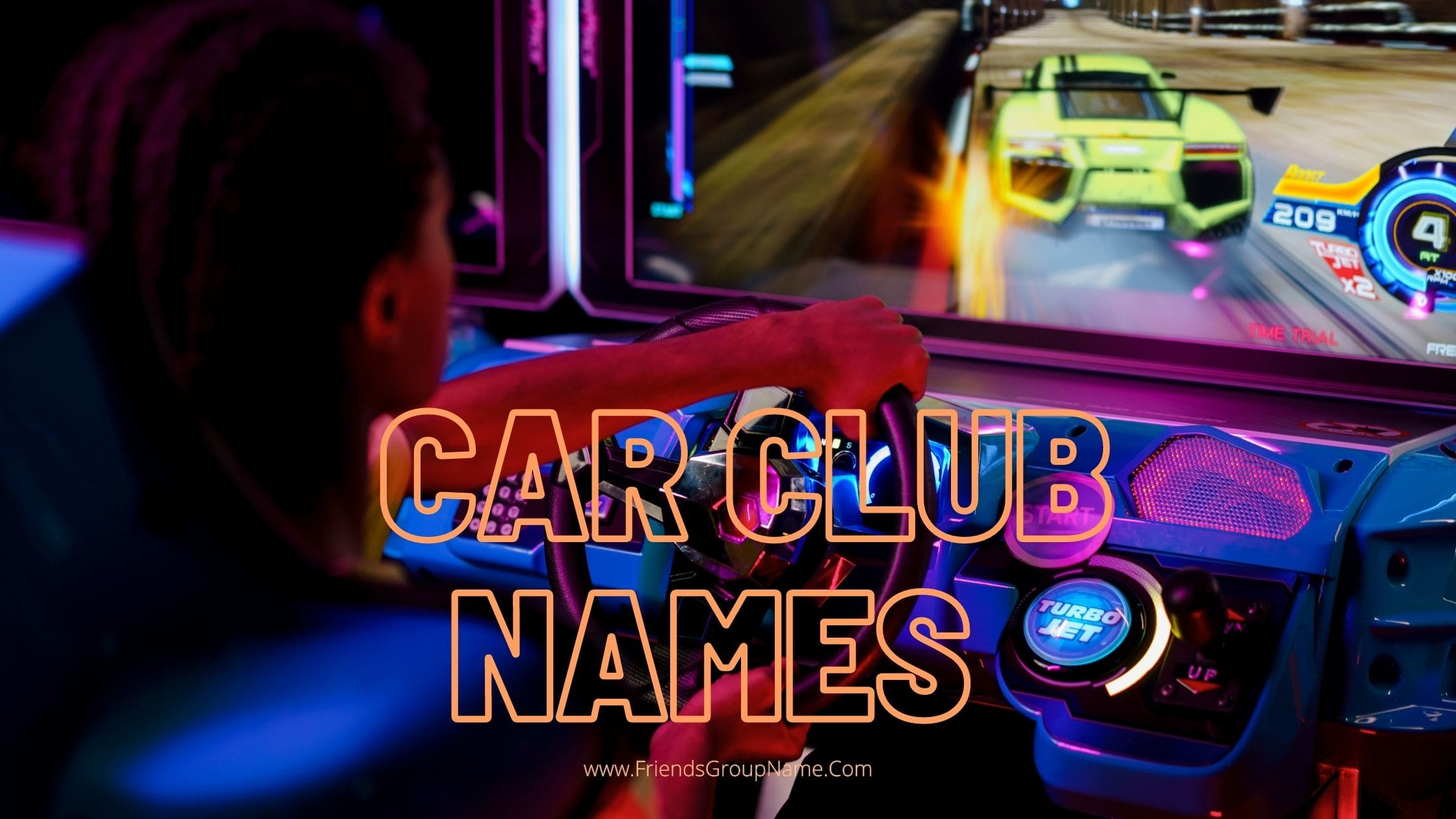 Cool Car Club Names