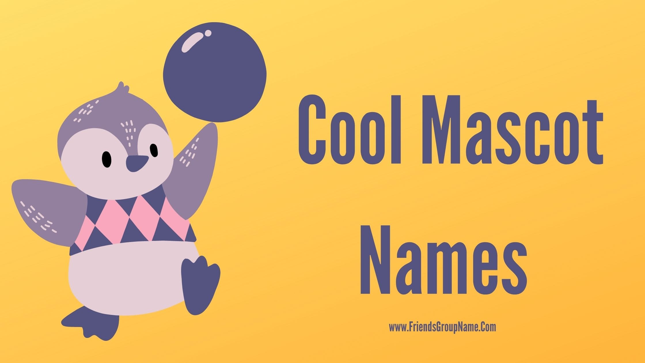 Cool Mascot Names